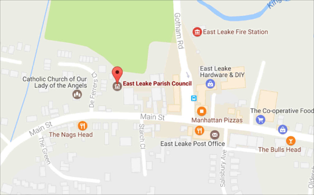 Location - East Leake Parish Council.